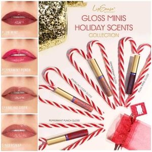 Holiday scented mini glosses